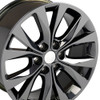 "20"" Fits Ford F-150 Style Wheels Black Chrome Set of 4 20x8.5"" Rims Hollander 10003"