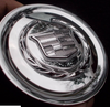 """Cadillac Escalade OEM Newer fitting Center Caps Chrome Set of 4 Brand new Factory OEM - 3 1/4"""" - Fit GM 20 and 22"""" wheels"""