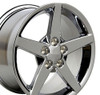 "17""/18"" Fits Corvette C6 Style Chrome Z06 Staggered Wheels Set of 4 17x8.5"" 18x9.5"" Rims"