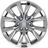 "One 20"" Fits Ford F-150 King Ranch style Wheel PVD Chrome 20x8.5"" Rim"