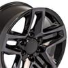 "18"" Fits Z71 Trail Boss Chevrolet Tahoe GMC Denali Sierra Escalade Tinted Machined Wheels Chevy 1500  Set of 4 18x8.5"" Rims"