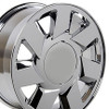 "17"" Fits Cadillac DTS Chrome Wheel 17x7.5"" Rim"