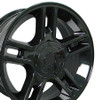"20"" Fits Ford® F150 Harley 5 lug Wheels Gloss Black Set of 4 20x9"" Rims"