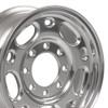 "16"" Fits Chevrolet GMC 2500 Suburban Tahoe One Wheel Polished 16x6.5"" Single Rim"