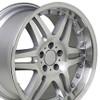 "18"" Fits Mercedes Benz - Monoblock Split Spoke Replica Wheel - Silver 18x8.5"