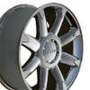 "20"" Fits GMC - Denali Wheels and Tires - Chrome 20x8.5"