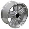 "18"" Fits Chevy Silverado Z71 Wheels Tahoe Suburban Silver Set of 4 18x8"" Rims"