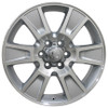 "20"" Fits Ford F-150 Wheels Silver Machine Face Set of 4 20x8.5"" Rims Hollander # 3787"