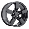 """20"""" fits Ford F150 Lightning Expedition Alloy Wheels Gloss Black Set of 4 20x9"""" Rims"""