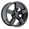 "20"" Gloss Black Ford F150 Lightning Expedition Alloy Wheels Rims & Tires Set of 4 20x9"