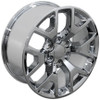 "20"" Fits Chevy 1500 GMC Sierra Wheels Silverado Chrome Set of 4 20x9"" Rims"