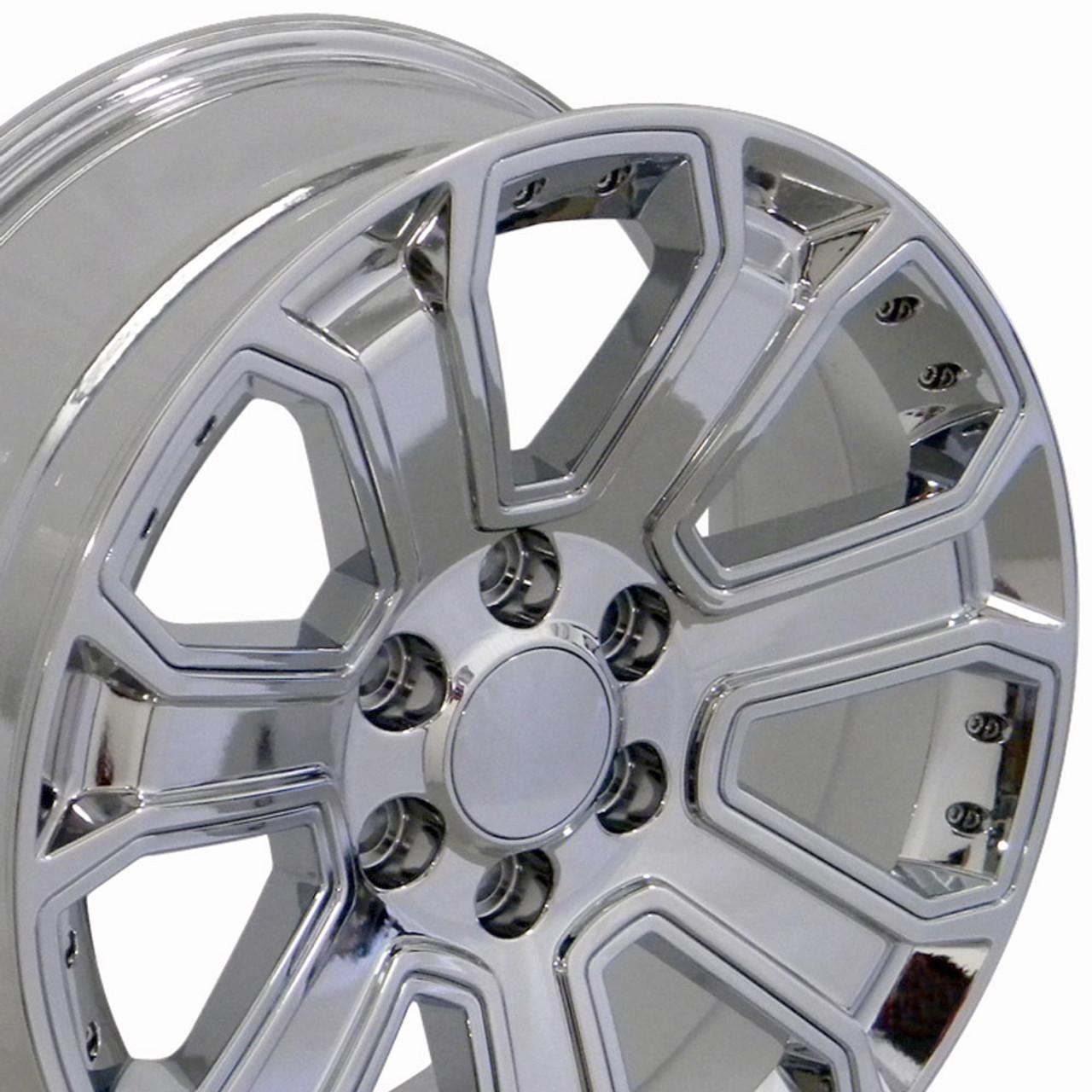 """20"""" GMC Denali Style Wheels Yukon Sierra Cadillac Fits ..."""