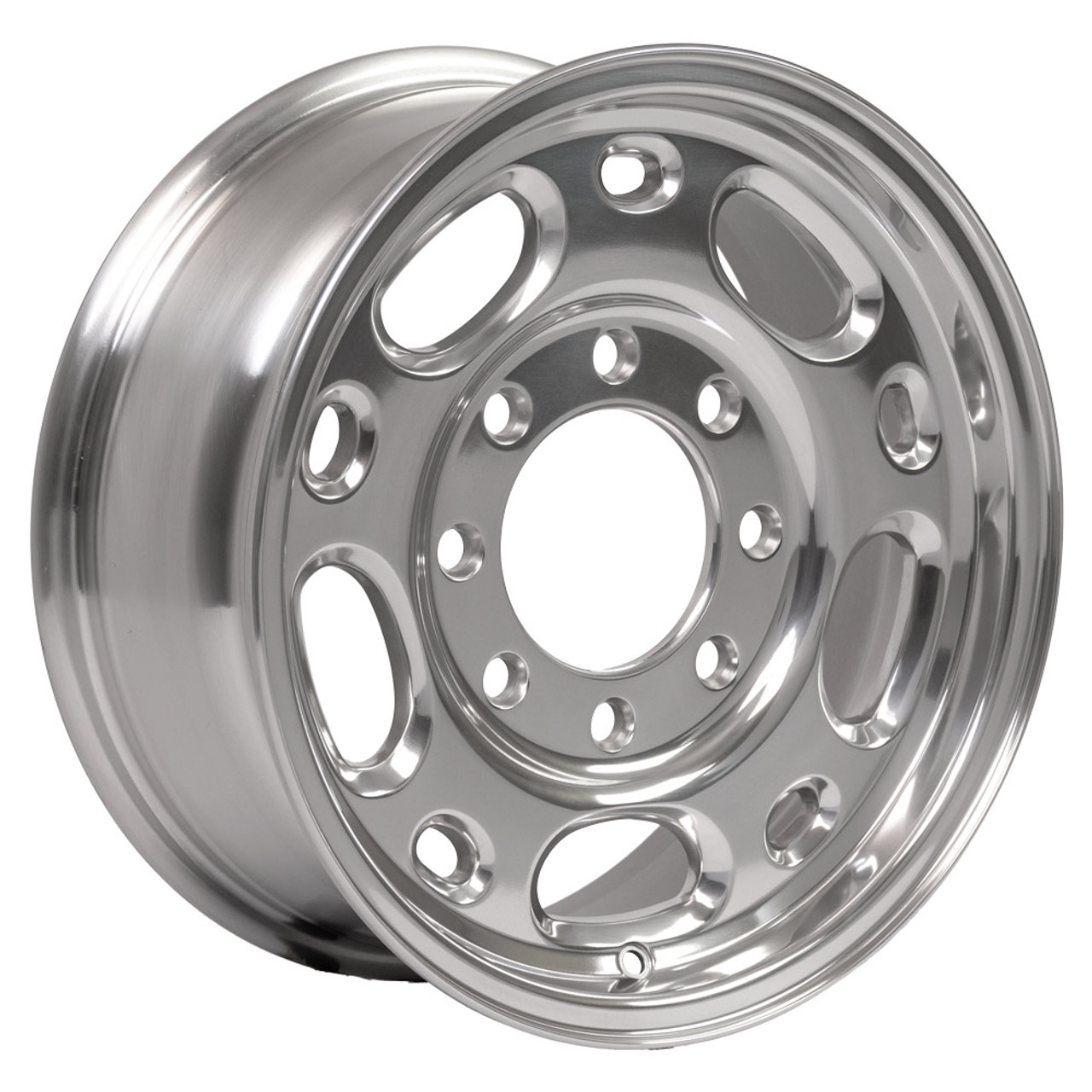 16 Fits Chevrolet Chevy 2500 Suburban Silverado Wheels Polished Set Of 4 16x6 5 Rims Hollander 5079