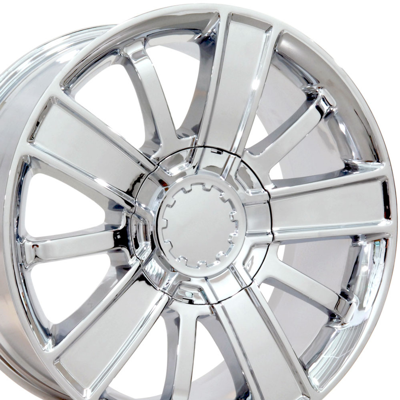 20 Fits Chevrolet Chevy Silverado Tahoe High Country Style Wheels Set Of 4 Chrome 20x9 Rims Gmc Sierra