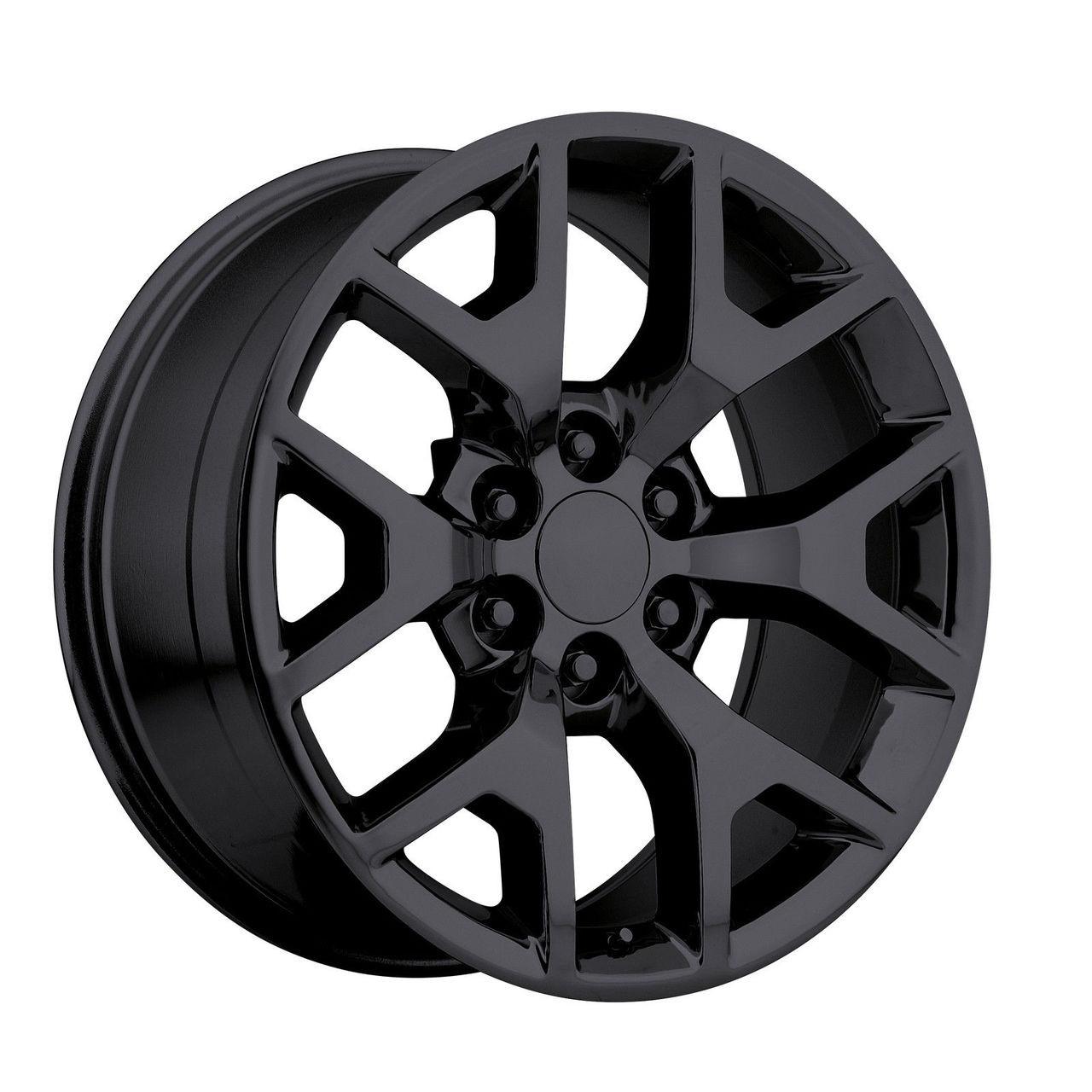 "20"" 2014 GMC Sierra Chevy 1500 Silverado Replica Wheels ..."