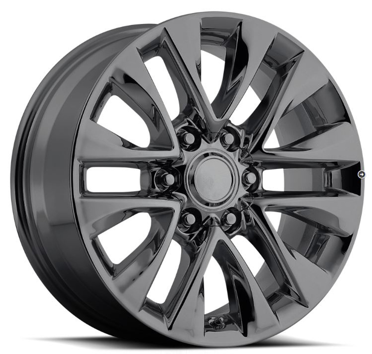 18 Fits Lexus Gx 460 Pvd Black Chrome Wheels Rims Set Of 4 18x7 5 Rims Stock Wheel Solutions