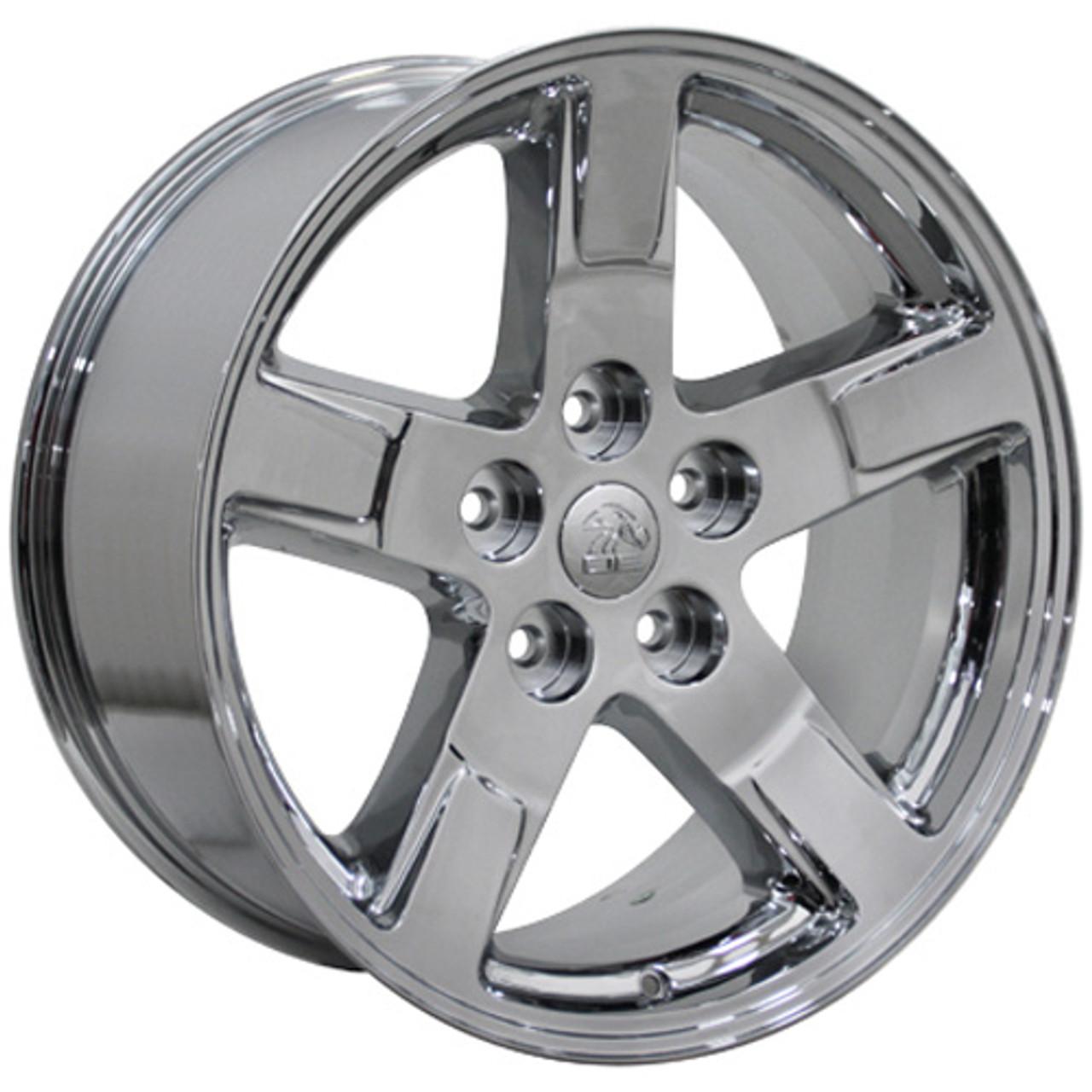 Dodge Durango Lug Pattern >> 20 Fits Dodge Ram 1500 Durango Wheels Chrome Set Of 4 20x9 Rims