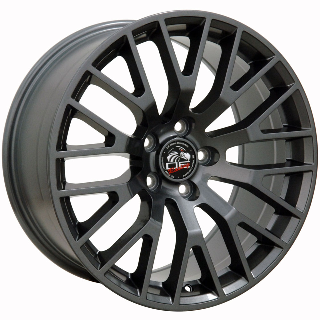 "18"" Fits Ford® -2015 Mustang® GT Wheel Gunmetal 18x10"" Rim"