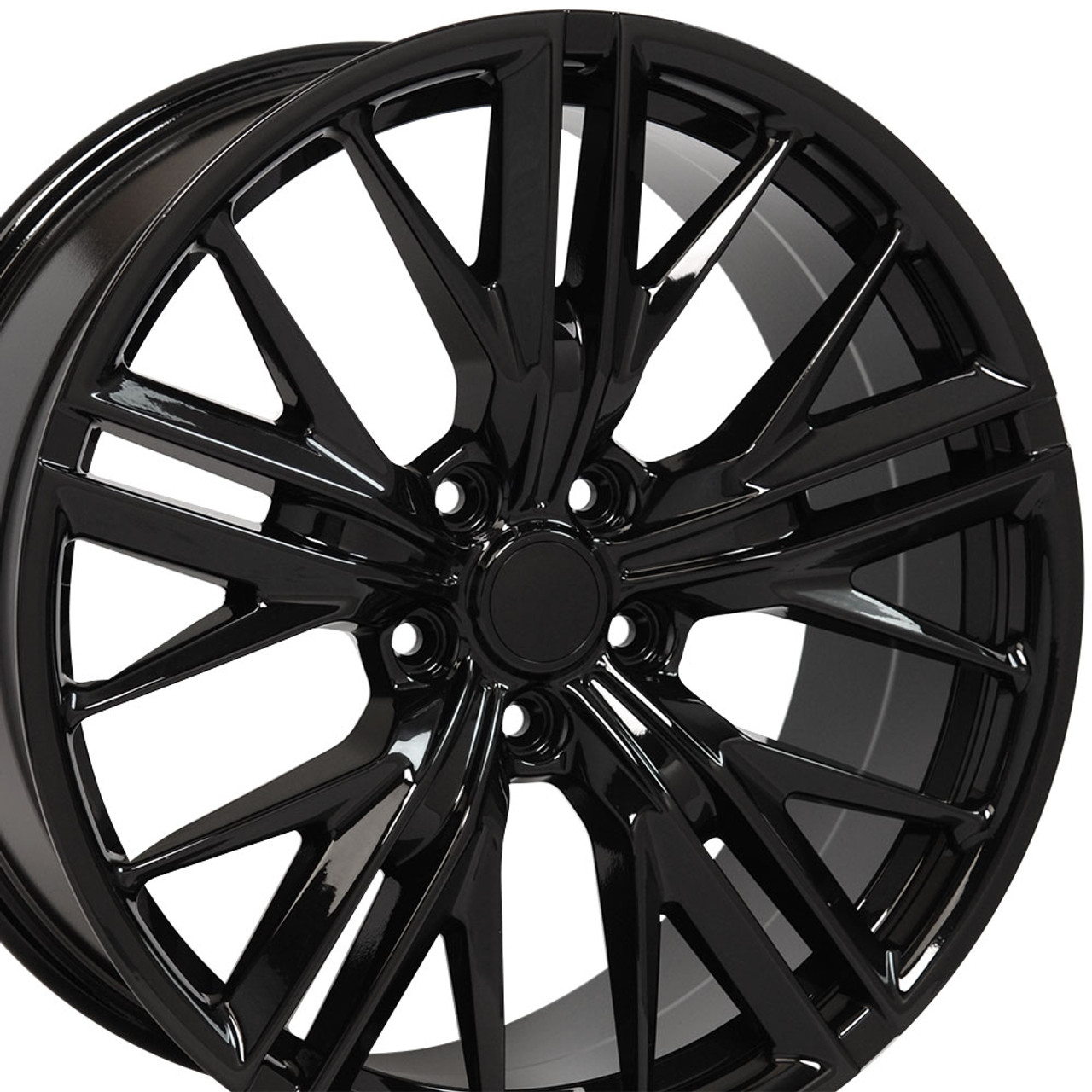 20 Quot Fits Chevy Camaro Zl1 Style Gloss Black Wheels Set Of