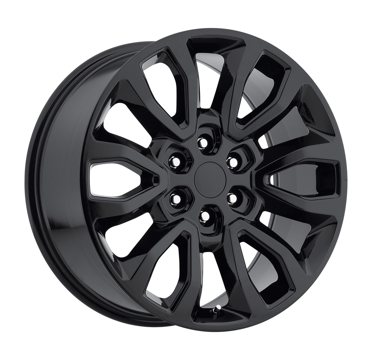 Ford F150 Wheels >> 20 Fits Ford F150 6 Lug Wheels Gloss Black Raptor Style Set Of 4 20x9 Rims