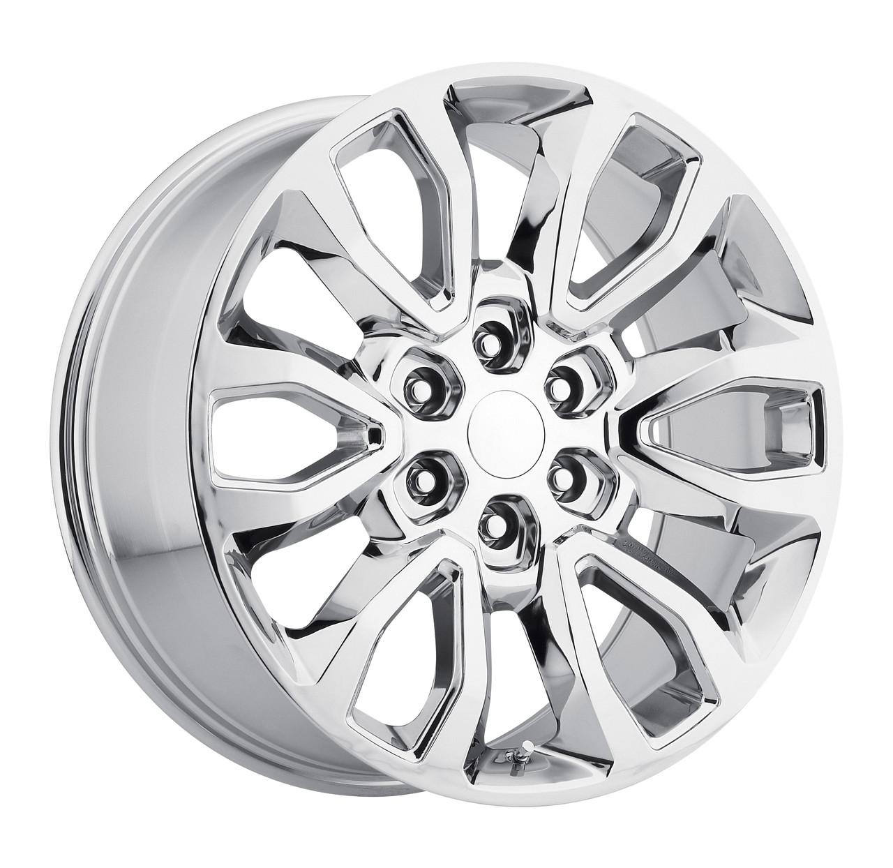 20 fits ford f150 6 lug wheels chrome raptor style set of 4 20x9