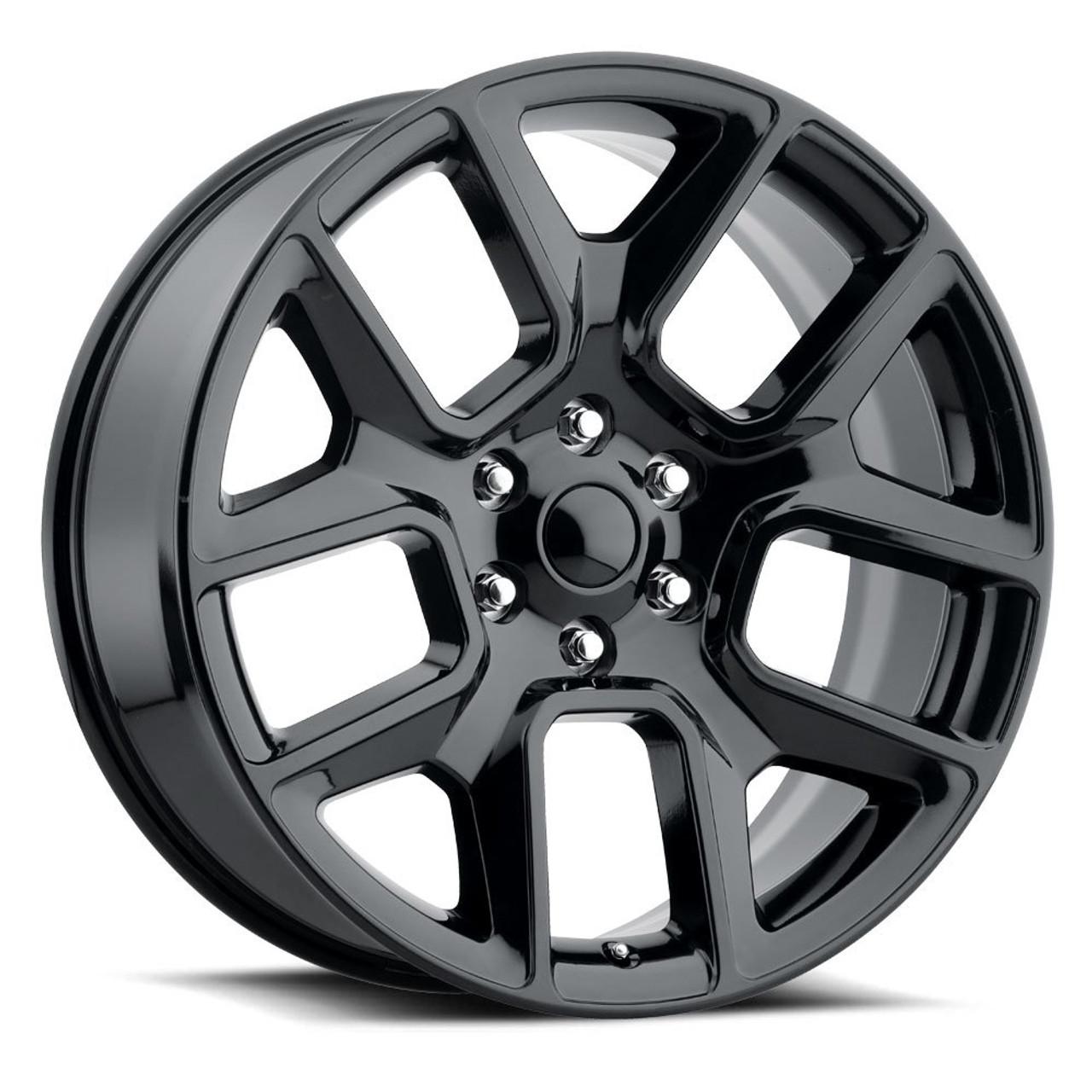 24 Fit S 2002 To 2018 Dodge Ram 1500 Ram Laramie Hemi Dakota Durango Wheels Gloss Black 5x139 Set Of 4 24x10 Rims Stock Wheel Solutions