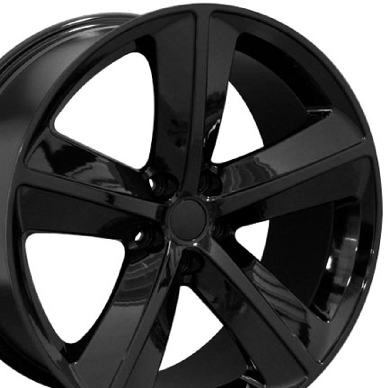 20 Fits Dodge Challenger Srt Wheel Rim Gloss Black 20x9 Rim Stock Wheel Solutions