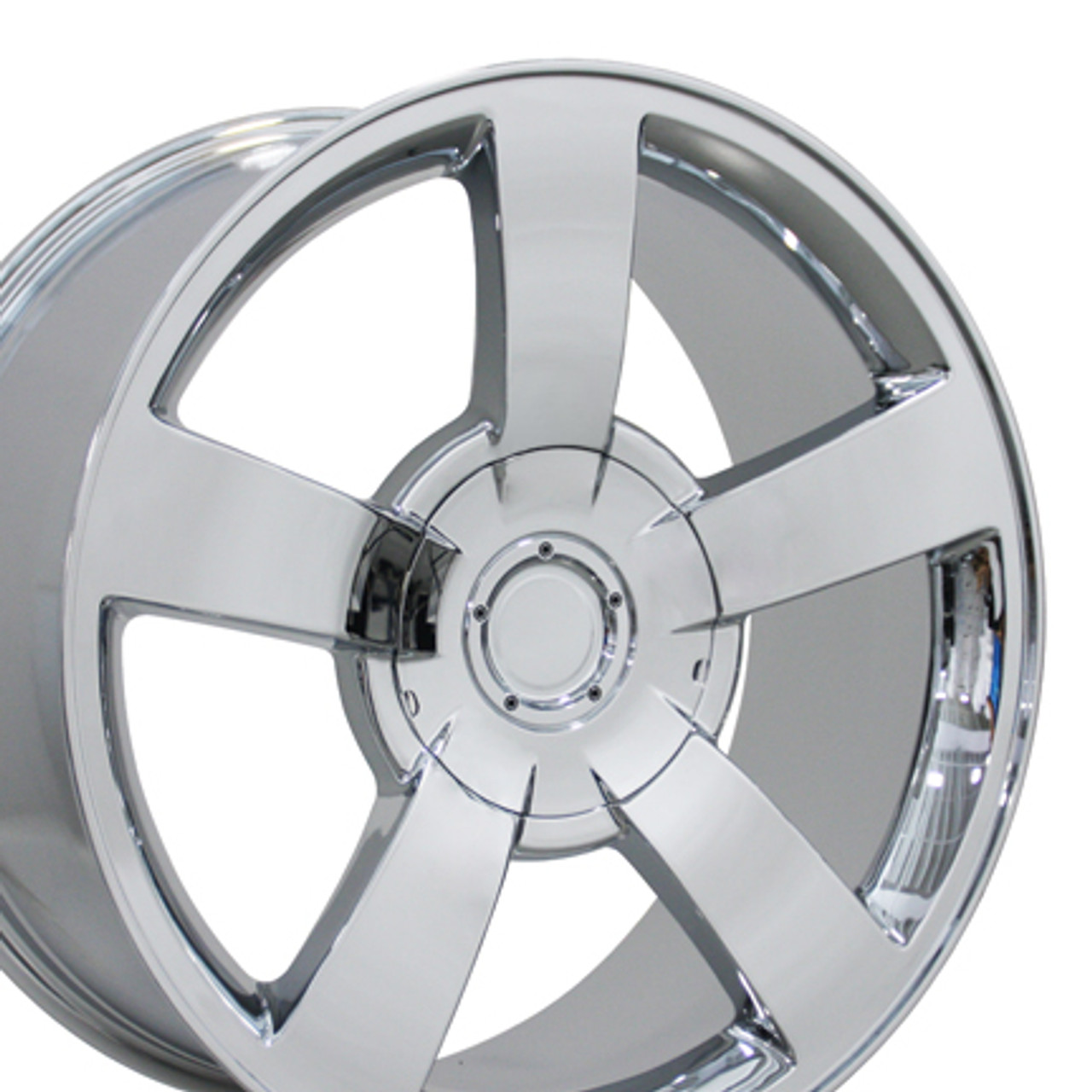 22 Fits Chevrolet Silverado Ss Wheels Rims Chrome Set Of 4 22x10 Hollander 5243