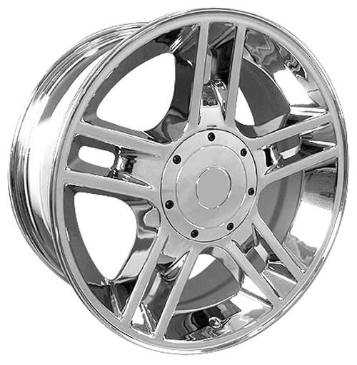 "20"" Fits Ford® F150 Harley 5 Lug Wheels Chrome Set of 4 20x9"" Rims Hollander 3410"