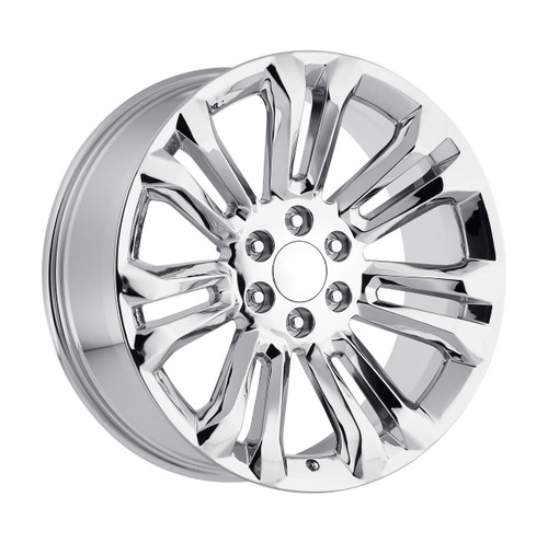 "22"" Chrome 2015 GMC 1500 Sierra Tahoe CK159 Chevy Silverado Wheels Set of 4 22x9"" Rims"