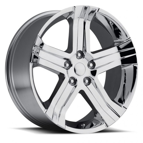 22 Fits Dodge Ram 1500 R T Style Chrome Wheels Set Of 4 22x9 Rims Stock Wheel Solutions