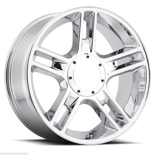 "22"" Fits Ford® F150 Harley Wheels 5 Lug Chrome Set of 4 22x9.5"" Rims"