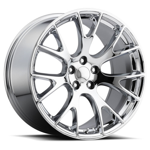 "22"" Hellcat Style wheels Chrome SRT Style Jeep Grand Cherokee Durango Dodge Wheels Set of 4 22x9"" Rims"