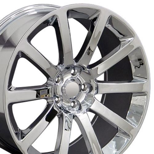 """20"""" Chrysler 300 SRT8 Charger Magnum Challenger Wheel Chrome Set of 4 20x9"""" Rims"""