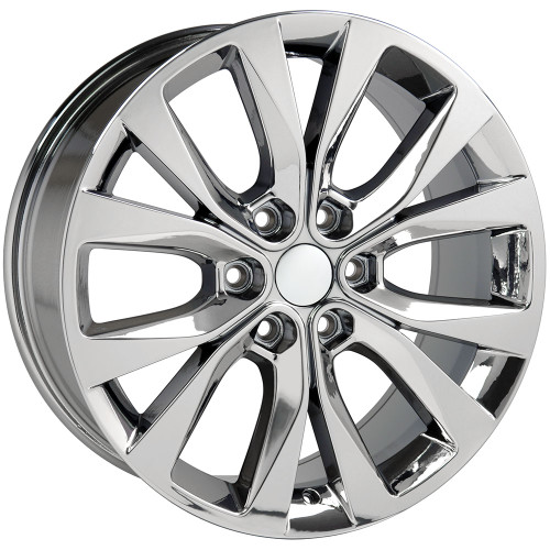 """20"""" Fits Ford F-150 King Ranch style Wheels PVD Chrome Set of 4 20x8.5"""" Rims Hollander 10003"""