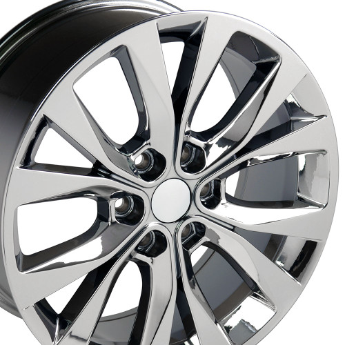 Ford F150 Wheels >> 20 Fits Ford F 150 King Ranch Style Wheels Pvd Chrome Set Of 4 20x8 5 Rims Hollander 10003
