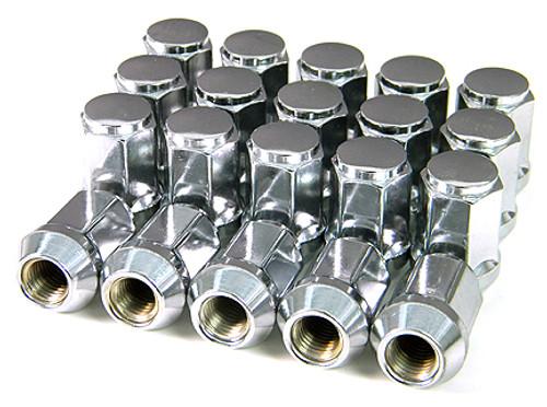 Spline Chrome Lug Nuts Set
