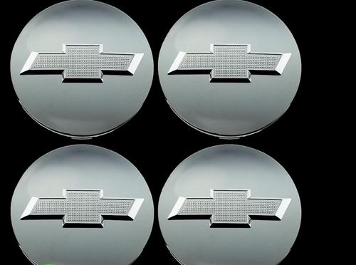 2014-17 Chevy Bowtie Center Caps Silverado Suburban Tahoe Chrome 3.25 Set of 4 Brand new Factory OEM