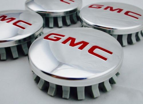 2014-18 GMC Yukon Sierra Denali Center Caps - Polished Set of 4 - Brand new Factory OEM