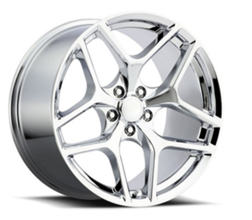 "20"" Fits Chevy Camaro Z28 Style Chrome Staggered Wheels Set of 4 20x9/10""Rims"
