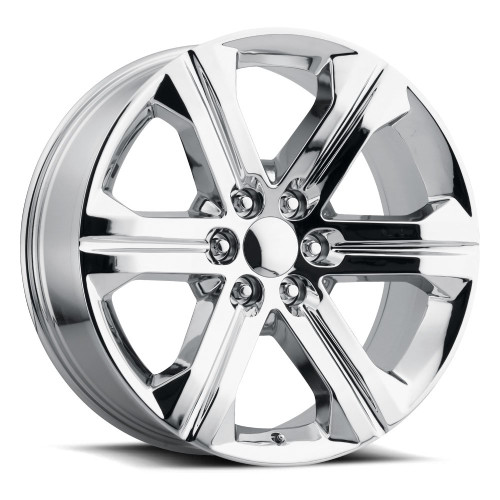 "22"" New 2018-19 Fits Chevrolet Escalade GMC Denali Wheels Chevy 1500 Chrome CK157 Set of 4 22x9"" Rims Hollander 5667"