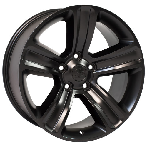 "20"" Fits Jeep Grand Cherokee Wheel Satin Black 20x10"" Rim"
