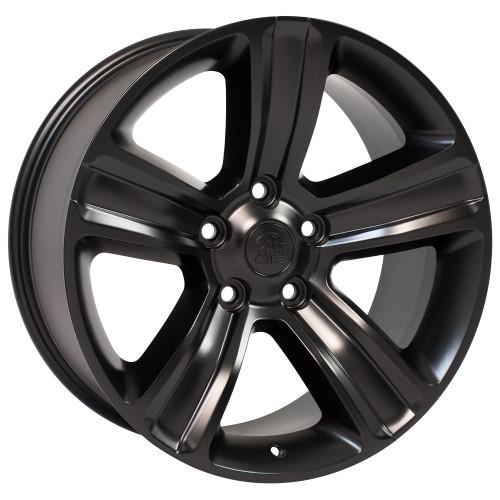 "20"" Fits Jeep Grand Cherokee Wheel Satin Black 20x9"" Rim"