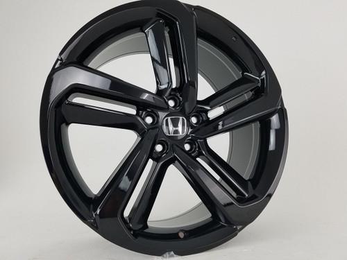 "19"" 2018-19 Fits Honda Accord Sport Civic Si EXL Acura Gloss Black Wheels Set of 4 19x8.5"" Rims"