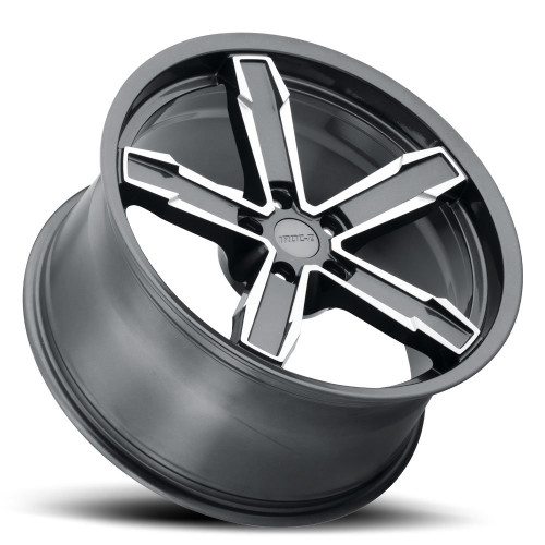"20"" Fits Chevy Camaro IROC-Z Style Gray Machined Face Wheels Set of 4 Staggered 20x10/11"" Rims"