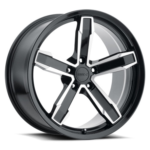 """20"""" Fits Chevy Camaro IROC-Z Style Black Machined Face Wheels Set of 4 Staggered 20x10/11"""" Rims"""