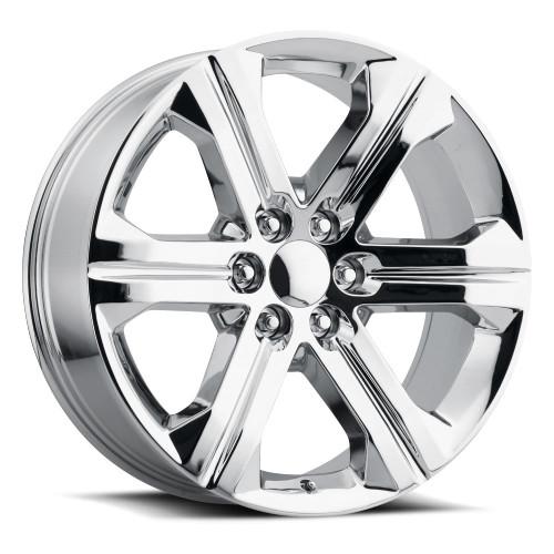 "24"" New 2018-19 Fits Chevrolet Escalade GMC Denali Wheels Chevy 1500 Chrome CK157 Set of 4 24x10"" Rims"