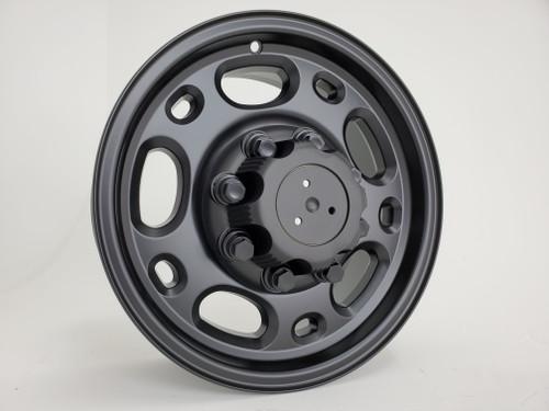 "16"" Fits Chevrolet GMC 2500 Suburban Tahoe One Wheel Satin Black 16x6.5"" Single Rim"