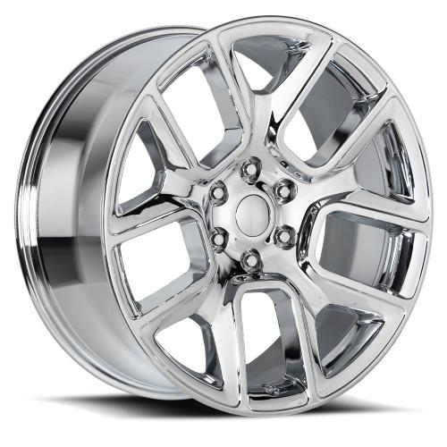 "22"" Fit's 2019 Dodge Ram 1500 Laramie Hemi  Wheels Chrome 6x5.5 Set of 4 22x9"" Rims"