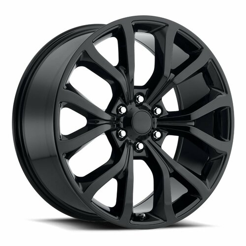 "22"" Fits Ford Expedition Style F150 Wheels Gloss Black Set of 4 22x9.5"" Rims"